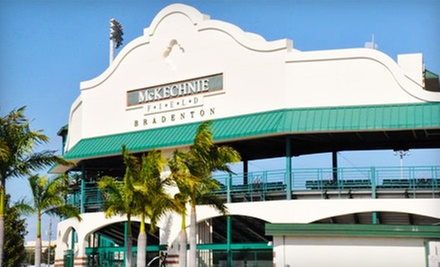 $12 for Bradenton Marauders Baseball Game and Ball Park Food for Two at McKechnie Field ($33 Value)