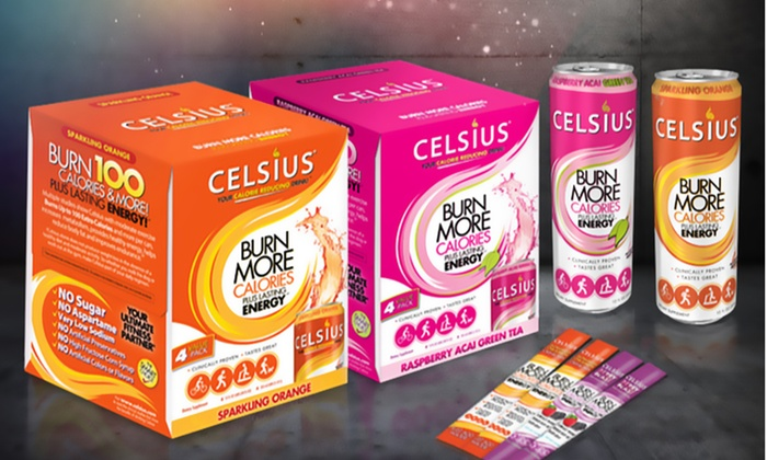 Celsius Weight Loss Drink Bundle With Cans And Powder