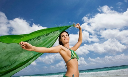 $35 for One Regular Full-Body Custom Spray Tan at Fit to Be Tan ($59 Value)