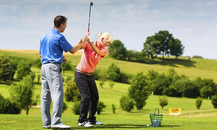 Private Golf Lessons with Swing Analysis or Three Group Lessons at Crusan Golf Academy (Up to 61% Off)