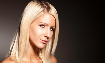 $64 for a Haircut and Conditioning Treatment with Full Highlights at DG's Styling ($190 Value)