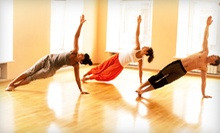 10 Yoga Classes or One Month of Unlimited Yoga Classes at Simply Hot Yoga Wellness Center (Up to 71% Off)
