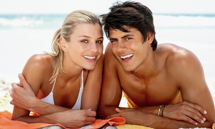 One- or Three-Month Tan and Tone Membership at Coco Cabana (Up to 67% Off)