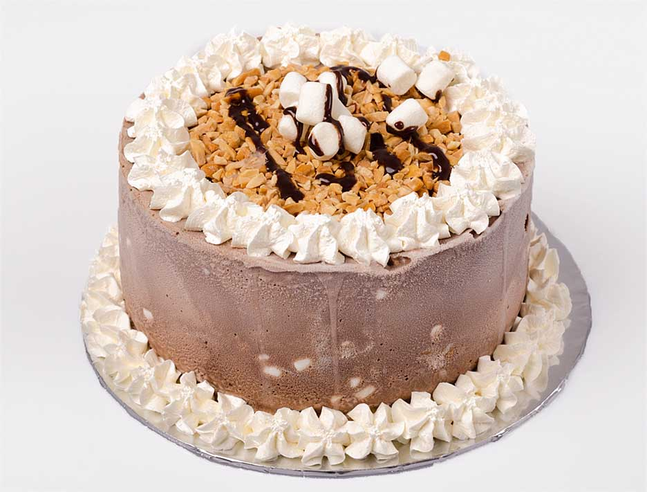 Campfire Ice Cream Cake Recipe — Dishmaps