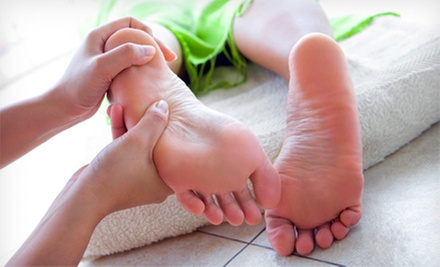 One or Two Reflexology Sessions with Hot Towels and Aromatherapy at Tranquil Touch Therapeutic Massage (Up to 55% Off) 