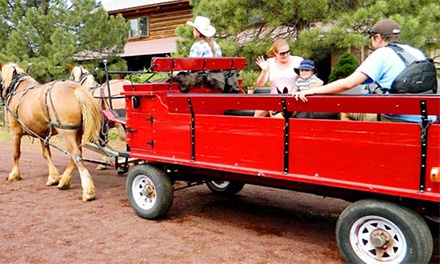 Wagon Ride with Breakfast or Lunch for Two or Four from Hitchin' Post Stables (Up to 50% Off)