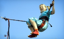 $12 for Four 10-Minute Indoor Trampoline Jump Sessions at Jump Station of Michigan-Mini Trampolines ($28 Value)