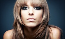 Haircut with Conditioning Treatment, Single-Process Color, or Partial Highlights at P.H.D. Salon & Spa (Up to 69% Off)