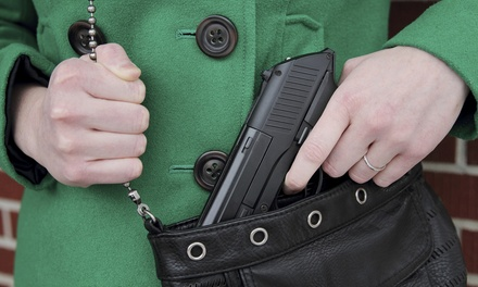 Concealed-Handgun-License Course for One or Two at Final Shot (Up to 51% Off)