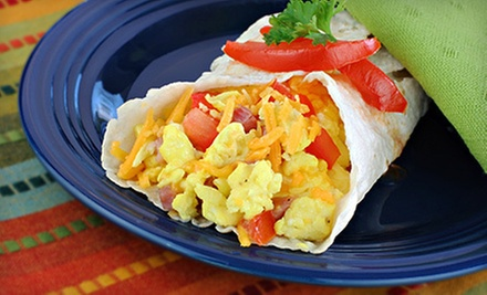 Home-Style Breakfast, Lunch, or Dinner at Amy&#x27;s Patio Caf (Half Off)