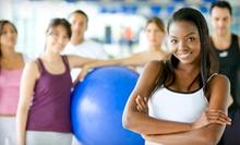 Five Small Group Training Sessions or One Month of Large Group Training Sessions at Hybrid Fitness (Up to 65% Off)