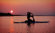 Two-Hour Stand-Up Paddleboarding Yoga Session or Stand-Up Paddleboarding Lesson from SUP Saskatoon (Half Off)