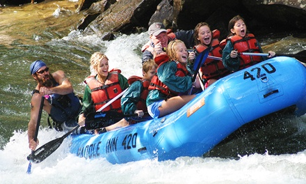 Self-Guided Whitewater-Rafting Trip for 4, 14, or 30 from Paddle Inn Rafting Company (Up to 45% Off)