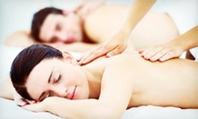 Couples Hot-Stone Massage with Wine and Chocolate, a Private Couples Retreat, or Both at Body Lounge Spa (Up to 70% Off)