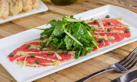 Lunch for Two or Dine-In or Carry-Out Italian Cuisine for Two at Carol's Cucina (Up to 50% Off)
