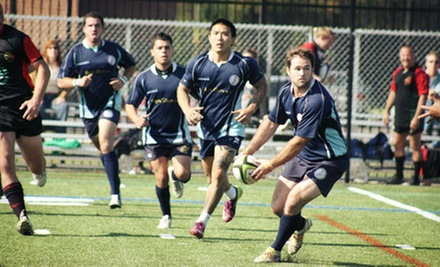 10-Game Rugby-Club Membership for One, Two, Three, or Four at White Plains Rugby Football Club (Up to 64% Off)