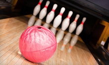 Three Games of Five-Pin Bowling with Shoe Rental, Pop, and Popcorn for Two or Four at St. James Lanes (Up to 54% Off)