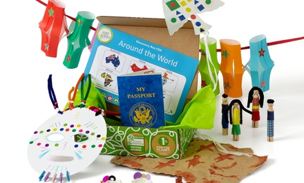 3-Month Discovery Boxes Subscription from Green Kid Crafts