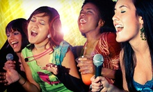 Karaoke Package for Two or Private Studio Rental Package for up to 10 at Limelight Stage & Studios (Up to 77% Off)