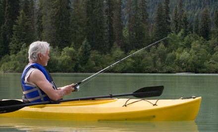 Four-Hour Guided Kayak Fishing Clinic for Two, Four, or Six from Texas Kayak Guide (56% Off)