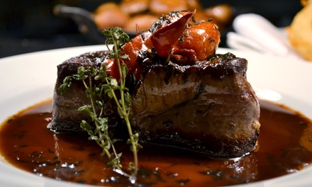 $55 for $100 Worth of Steak and Wine at 801 Chophouse
