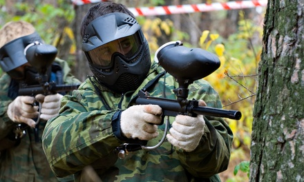 Paintball Packages with Equipment Rental for Two, Four, or Six at Paintball Kingdom (Up to 74% Off)