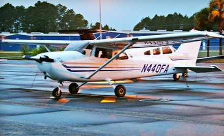 $110 for a 1.5-Hour Flight Experience from A-Cent Aviation ($229 Value)
