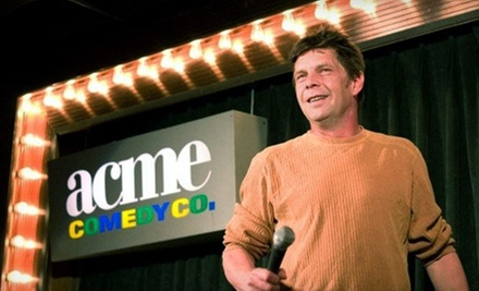 $15 for Two Tickets to See a Standup Show at Acme Comedy Club (Up to $30 Value). 14 Options Available.