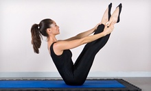 5 or 10 Yoga Classes at Heads &amp; Tails Yoga (Up to 71% Off)