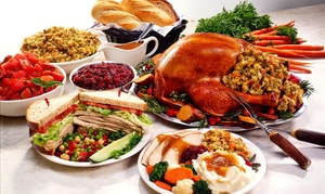 Take-home Thanksgiving Meal Or Cookbook & Cookie Package From Chef Carla Hall (up To 41% Off). Three Options.