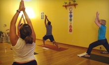 10 Yoga Classes or One Month of Unlimited Yoga Classes at Atma Bodha Yoga Studio (Up to 76% Off)