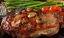 $45 for a Steak-House Meal for Two with Appetizers and Drinks at Dierdorf &amp; Hart's Steakhouse (Up to $95.50 Value) 