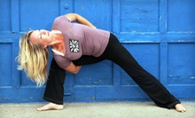 10 Yoga Classes or One Month of Unlimited Yoga Classes at Serenity on the Square (Up to 62% Off)
