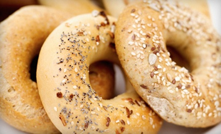 $15 for Three $10 Vouchers Toward Bagels, Salads, and Coffee Drinks at Soho Bagel Cafe