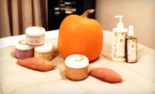 C$69 for an Eminence Organic Fall Facial with a Yam-and-Pumpkin Peel at Luxe Beauty Lounge & Mobile Spa (C$140 Value)