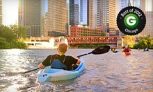 Architecture-and-History or Gangsters Kayak Tour for Two or Four from Wateriders (Half Off)