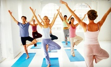 10 or 20 Yoga Classes at The Light Academy (Up to 82% Off)