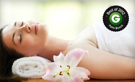 $65 for a Spa Mani-Pedi and a 55-Minute Deep-Tissue or Swedish Massage at Salon Mikimoto (Up to $155 Value)