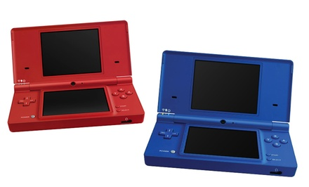 Nintendo DSi Gaming System in Matte Blue or Matte Red (Manufacturer Refurbished). Free Returns.