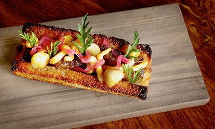 Six-Course Lunch Tasting Menu with Drinks for Two or $29 for $59 Worth of Lunch at Scratch Bar