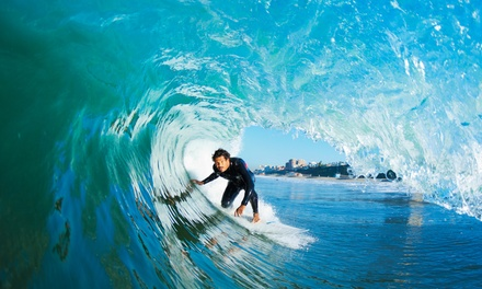 $35 for a Three-Hour Group Surf Lesson at Wick'd Surf Camps ($79 Value)
