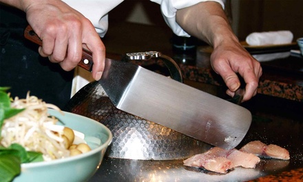 $16 for $30 Toward Hibachi Dinner for Two at Kabuto Japanese Steaks and Sushi