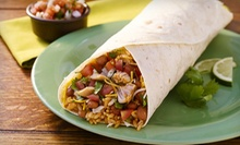 Mexican Meals for Two or Four at Taco Del Mar (Up to 54% Off)
