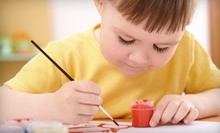 Three or Six Drop-In Preschool Picassos Classes at Celebrate Art! (Up to 58% Off)