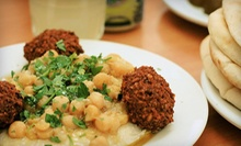 $15 for $30 Worth of Mediterranean Food at Yazmyne'z Restaurant and Mediterranean Cuisine