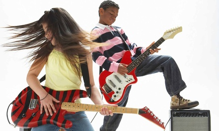 One Month of Band Classes or Private Music Lessons at Modern Music School (75% Off)