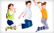 10 or 15 Kids' Zumba Classes or a Zumba Party for Up to 12 Kids at Bella Fitness (Up to 74% Off)
