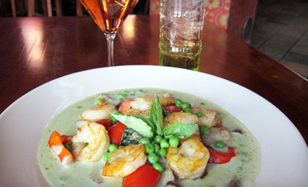 Thai Meal for Two or Four with Appetizers, Entrees, and Drinks at Chiang Mai Thai (Up to 52% Off)