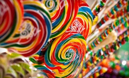 $10 for $20 Worth of Candy at Fuzziwigs Candy Factory