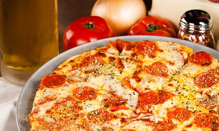 Large Pizzas and Beers for Two or Four at Mad Meatball (43% Off)